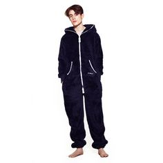 OnePiece Teddy Fleece Navy, 179€, now featured on Fab.