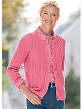 Cotton Comfort Cable Cardigan