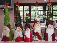 ARTESANATO COM QUIANE - Paps,Moldes,E.V.A,Feltro,Costuras,Fofuchas 3D: Inspiração Natal