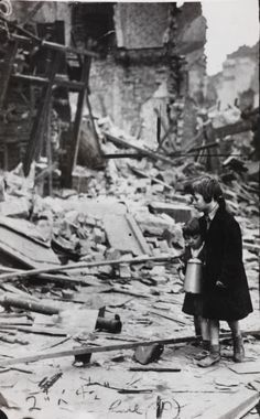 The Liverpool Blitz of 1941 involved 681 German Luftwäffe bombers.  2315 high explosive bombs and 119 other explosives were dropped on the city.  There were 2895 casualties, with many more left homeless.