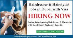 Hairstylist Salary : visa. New ladies salon is looking experienced hairstylist. Good salary ...