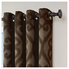 """Patricia Blackout Curtain Brown (52""""x84"""") Eclipse"""
