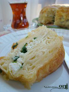 Kek kalıbında peynirli börek tarifi - rumma - rumma