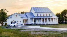 Plan 31528GF: Modern Farmhouse Plan with Wrap-Around Porch and Breezeway