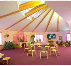 Go to http://wanelo.com/p/4824696/music-marketing-classroom to learn about making money with music  - waldorf classroom - inspiration: open space (like garage) with skylights for group music class.
