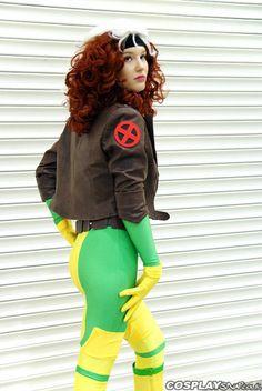 Rogue, X Men.  she's too pretty.