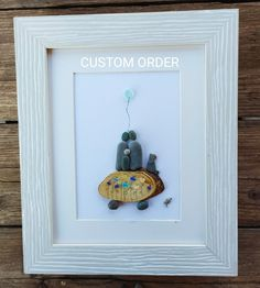 Pebble art family3, Family portrait+dog, family pebble picture, sea glass picture, home decor, home living, family3 gift, housewarming gift Pebble Art Family, Family Wall Art, Anniversary Gifts For Couples, Anniversary Photos, Large Family Photos, Personalized Family Gifts, Pebble Pictures, Beach Art, Family Christmas