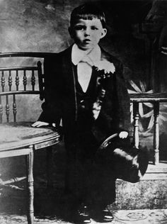 A young Frank Sinatra, dapper and rebellious from birth