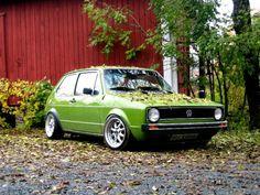 green golf mk1 | Tumblr