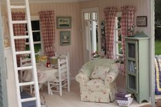 Miniature ~ Inside of my cottage!