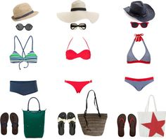 """""""on the beach"""" by susanna-pullano on Polyvore"""