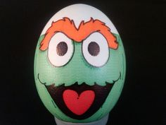 Eggbot - Oscar the Grouch by RoboGenius - Thingiverse