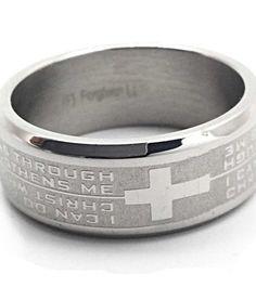 Philippians 413 Ring