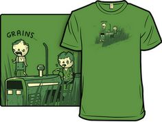 Homebrew Finds: Grains T-Shirt on Shirt.Woot $12