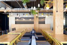 Bien! restaurant by Suite arquitetos, São Paulo – Brazil #varejo #retail #bar #restaurante #restaurant #store #loja #brasil #sãopaulo
