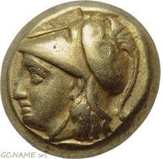 Ancient Greek: IONIA. Phokaia. EL Hekte (Circa 387-326 BC).Gold Oro Or #431