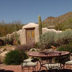Looking for Outdoor Space and Backyard ideas? Browse Outdoor Space and Backyard images for decor, layout, furniture, and storage inspiration from HGTV. Fence Design, Garden Design, Door Design, Exterior Design, Outdoor Rooms, Outdoor Living, Desert Backyard, Desert Gardening, Landscaping Near Me