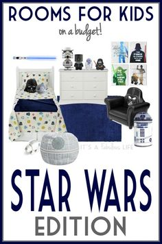Star Wars Bedroom Decorating Ideas For Kids (On a Budget!)