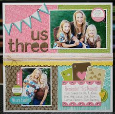 General theme scrapbook layout