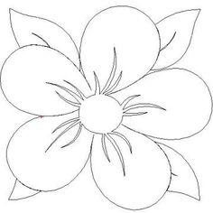 fantasy flowers quilt pattern | Fantasy Flower-Block-L01028*