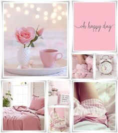 moodboard by AT Collages, Color Collage, Beautiful Collage, Jolie Photo, Everything Pink, Colour Board, Color Rosa, Happy Day, My Favorite Color