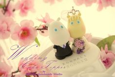 moomin wedding couple cake topper Wedding Couples, Wedding Engagement, Wedding Cake Toppers, Wedding Cakes, Biscuit, Moomin, Cupcake Cakes, Cupcakes, More Cute