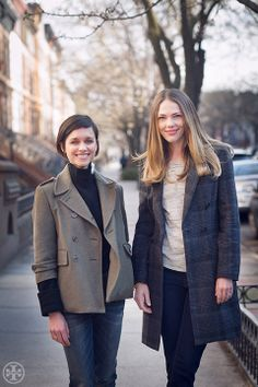Jane Herman Bishop & Florence Kane On: Denim Style | The Tory Blog
