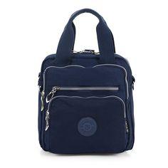 Multifunkcionális vízálló nylon nagykapacitású Multi-pocket válltáskák Crossbody táskák táskák