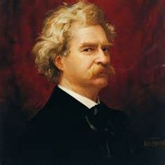 """""""To succeed in life, you need two things: ignorance and confidence."""" - Mark Twain quote"""