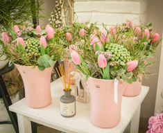 Planter Pots, Pastel, Spring, Cake, Crayon Art, Melting Crayons