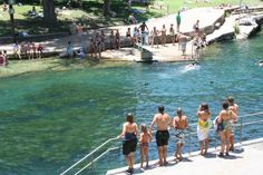 Musical Fountain on a single floating platform Best Swimming, Swimming Pools, Great Places, Places To See, Zilker Park, Visit California, California Travel, Floating Platform, Months In A Year