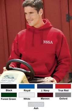 #jerzees #hooded #pullover #corporate #sweatshirts $26.81    Features: Pill-free 50% cotton, 50% polyester NuBlend; double-needle cover-seamed neck, armholes, shoulder and waistband; 1x1 ribbed cuffs and waistband with spandex; double-lined hood with grommets and drawstring; set-in sleeves; 9.5-ounce.  http://ezcorporateclothing.com/custom/105-Hooded-Sweatshirts/889-Jerzees-Super-Sweats-Hooded-Pullover/