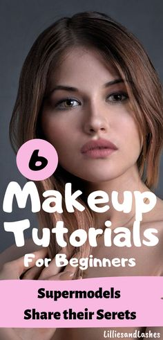 Achieve the perfect natural makeup look with these easy makeup tutorials for beginners by the best! These supermodels know all the beauty tips and tricks and today they are sharing them with us. Make Up Tutorials, Best Makeup Tutorials, Best Makeup Products, Beauty Tips For Face, Beauty Secrets, Beauty Hacks, Beauty Care, Easy Makeup Tutorial, Makeup Tutorial For Beginners