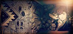 Installation de l'Artiste Marseillais OHIDO // Alias Benjamin MAFFEO
