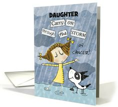 Customizable Get Well Soon for Daughter-Cancer Patient Encouragement card