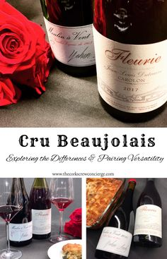 Exploring the Differences & Pairing Versatility of Cru Beaujolais - The Corkscrew Concierge™ Burgundy Wine, Red Wine, The Slight Edge, French Cafe, Red Fruit, Red Berries, Pinot Noir, Wine Recipes, Wines