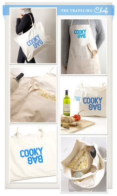 Apron/Bag for traveling chefs