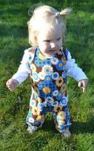 brown floral tiljamid bamboo baby dungarees Baby Dungarees, Brown Floral, Bamboo, Onesies, Kids, Clothes, Young Children, Outfits, Boys