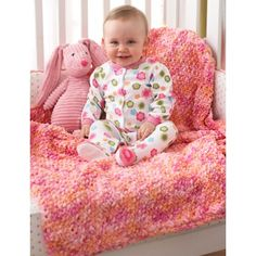 Corner to Corner Seed St Blanket in Bernat Baby Blanket. Discover more Patterns by Bernat at LoveKnitting. The world's largest range of knitting supplies - we stock patterns, yarn, needles and books from all of your favorite brands. Easy Knit Baby Blanket, Bernat Baby Blanket, Blanket Yarn, Knitted Baby Blankets, Baby Afghans, Baby Shawl, Crochet Afghans, Crochet Stitches, Knitting Yarn