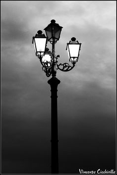 Street Lamp and Clouds