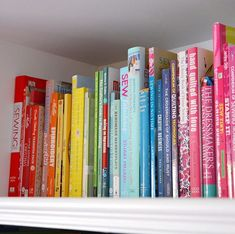 Its the first day of #ColourMyEveryDay with the lovely @adventuresandteaparties today!  my favourite photo challenge! And the prompt for today is favourite - its hard to choose but one of my favourite places to be is my craft room  and I particularly love my rainbow shelf as its full of colour and inspiration  #hellohoorayblog #shelfie #rainbowshelfie #creativereads