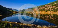 San Cristobal Lake Reflections Colorado Bliss Mirror and brings the life to the high altitude rocky mountains, at the second largest natural lake in Colorado