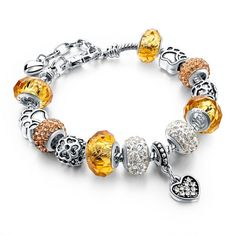 Original Crystal Charm Bracelets