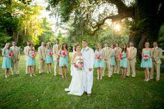 Magnolia Plantation wedding | Real Weddings | The Wedding Row