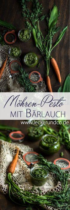 Bärlauch-Möhrengrün-Pesto