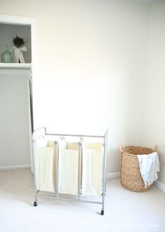 Laundry room organization ideas with Better Homes and Gardens products @bhglivebetter