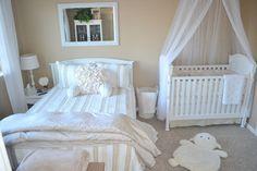Neutral Nursery Guest Room Combo Ideas   Decorative Bedroom