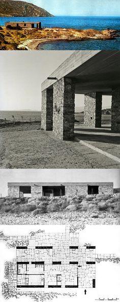 Aris Konstantinidis: K. Papapanayotou House, Greece, 1962