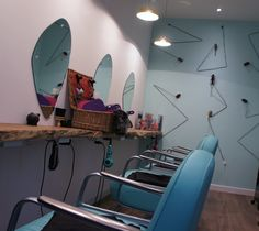 The Curious Comb, Greenwich, London | Capital Hair & Beauty Salon Refit   For details on salon refits, contact furniture@capitalhb.co.uk