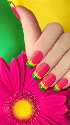 Bright Nail Art   ❤